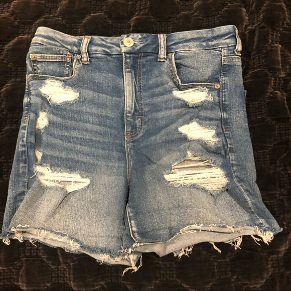 American Eagle Ripped Shorts Size 10
